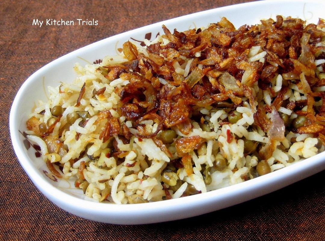 One pot meal – Mujadara | My Kitchen Trials