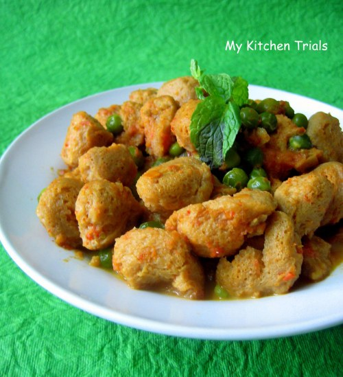 Mild Soya Nugget Curry