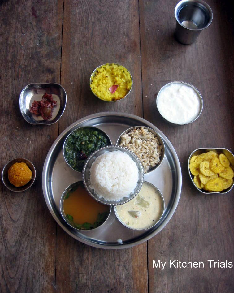 Simple south indian thali tamil nadu my kitchen trials like forumfinder Image collections