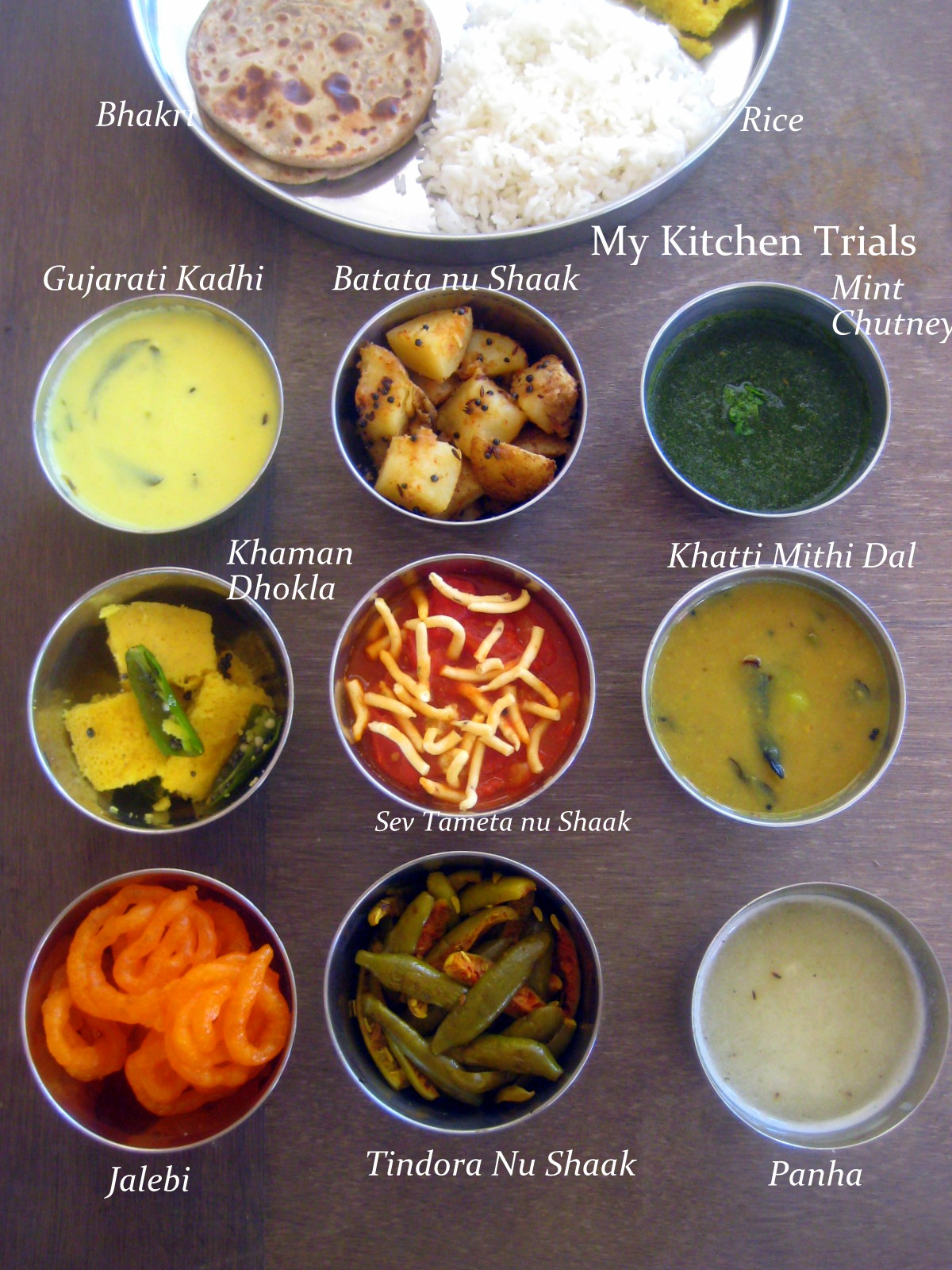 Indian Food Catering Names