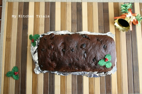 Cranberry Chocolate Bread