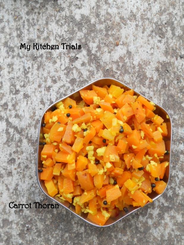 carrot thoran