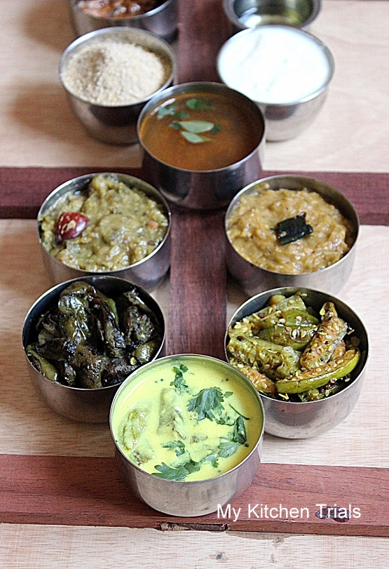 Andhra thali meals my kitchen trials starting with andhra and ending with west bengal this cooking journey isnt that easy when i started off i wanted thali meals whole lunch platter and forumfinder Choice Image