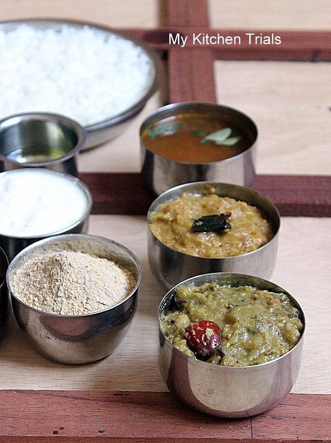 Andhra thali meals my kitchen trials andhra 006 forumfinder Gallery