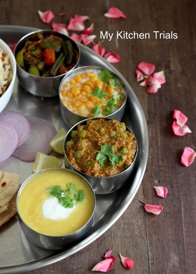 Uttar pradesh awadh mini thali my kitchen trials upthali 001 forumfinder Images