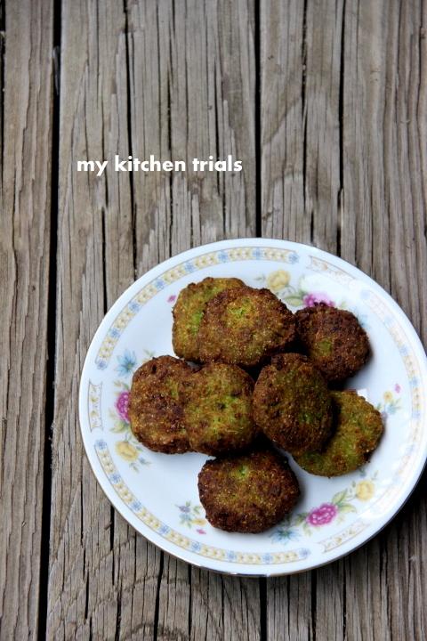 green peas vada