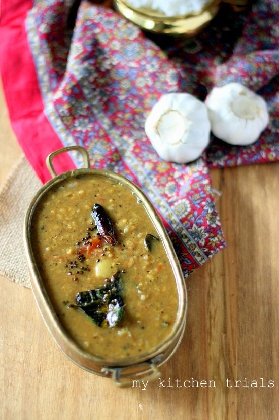 garlic pepper sambar1
