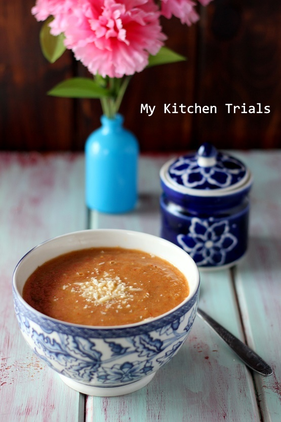 2Roasted eggplant soup