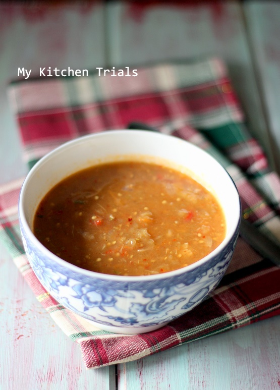 3Roasted eggplant soup