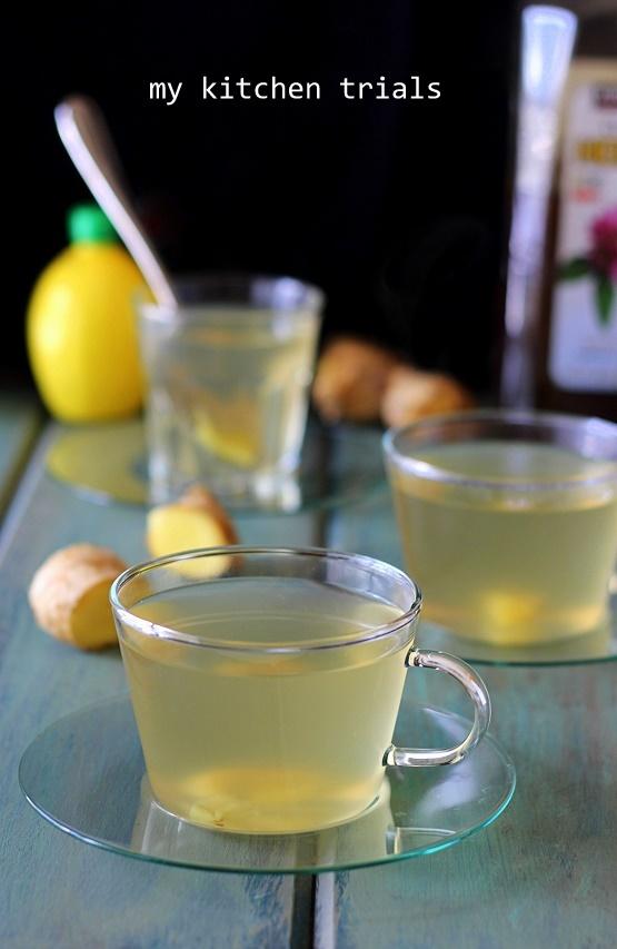 2ginger tea