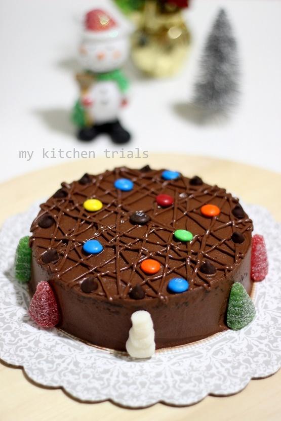 1chocolate cake