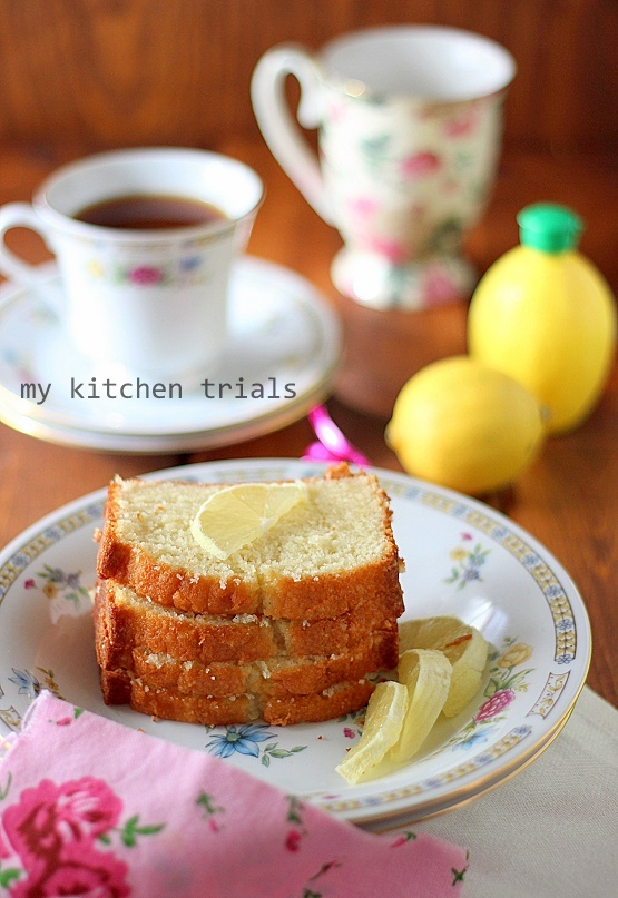 1lemon pound cake