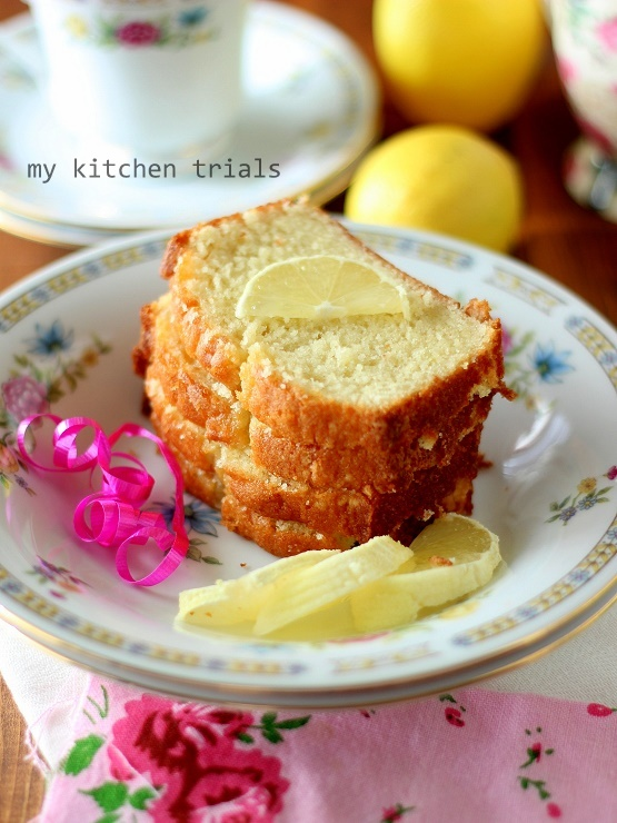2lemon pound cake