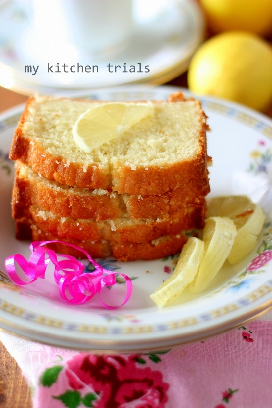 3lemon pound cake