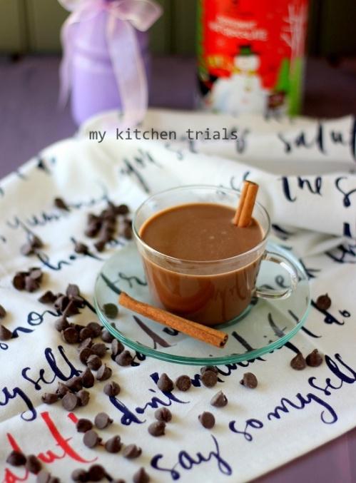 1hot chocolate
