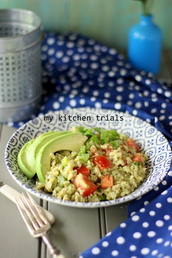 1brown rice salad