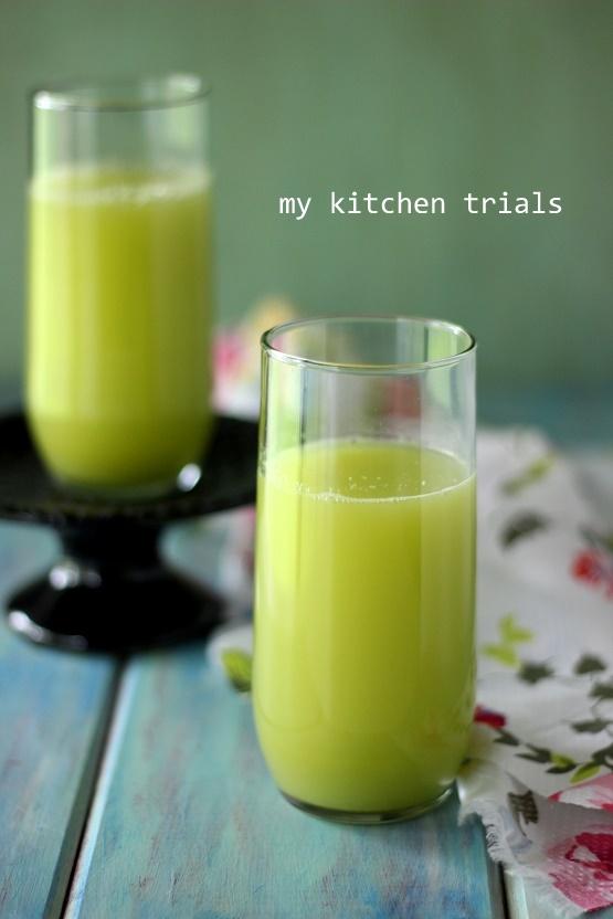 1celery juice