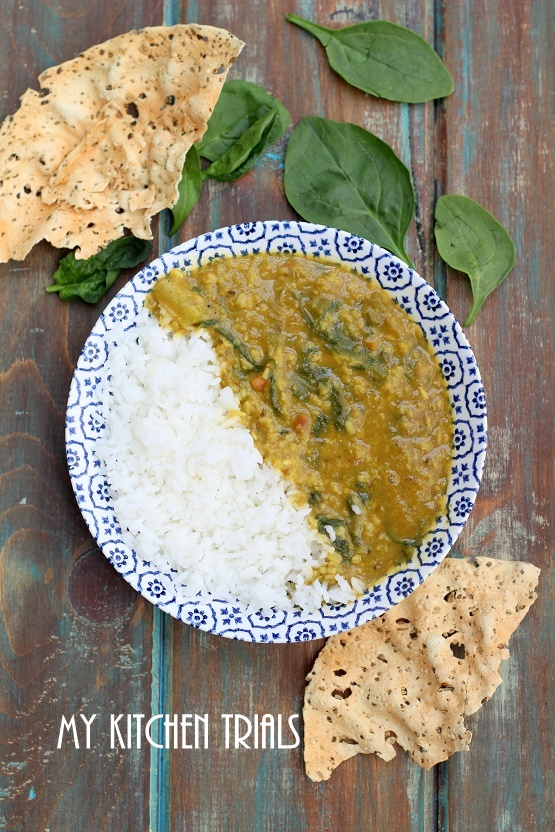 2spinach dal